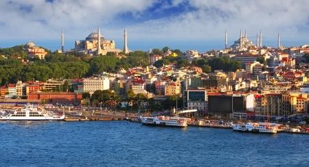 bosphorus: Istanbul panorama, Turkey