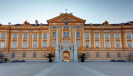 main gate: Stift Melk Abbey Church - Austria