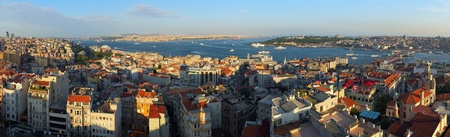 Istanbul Panorama from galata tower -Turkey