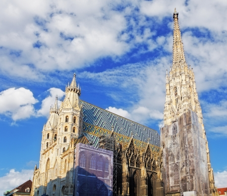 saint stephen cathedral: St  Stephan cathedral in Vienna, Austria