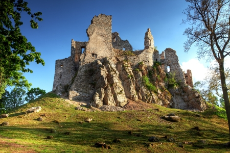 Ruin of Castle Hrusov photo