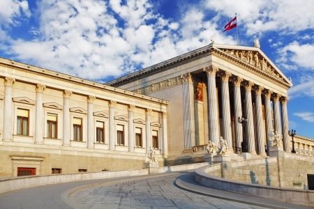 Austrian Parliament in Vienna - Austria photo