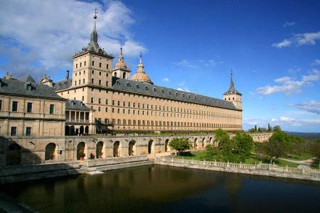 monastery nature: Ancient monastery in Spain, Europe