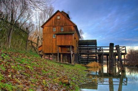 watermill: Watermill in Slovakia