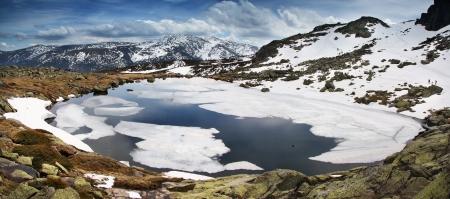 sierra: Mountain Sierra de Guadarrama - Spain Stock Photo