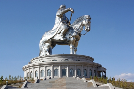 independent mongolia: Chingiis Khaan Mongolian Emperor  Editorial