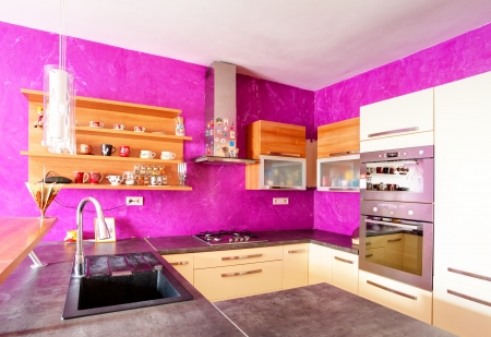 Kitchen modern Stock Photo - 18985689
