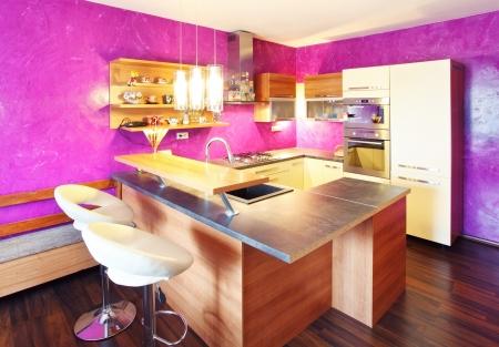 Kitchen modern Stock Photo - 18985726