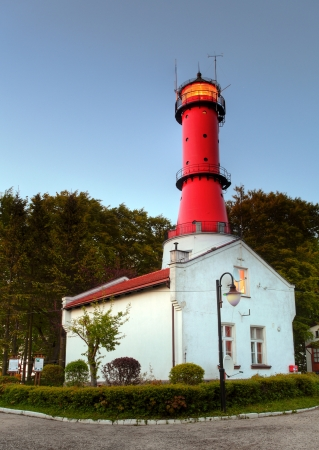 Lighthouse in Poland photo
