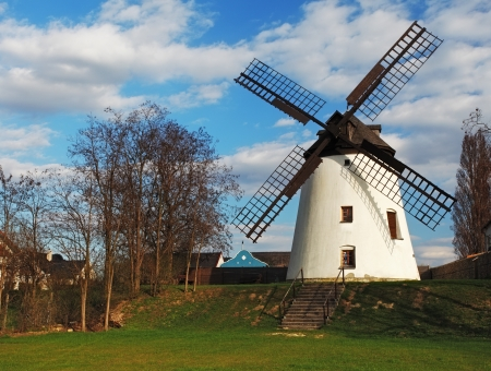 The very beautiful old mill photo