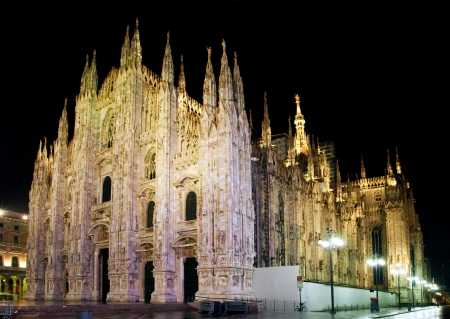 Milan cathedral dome photo
