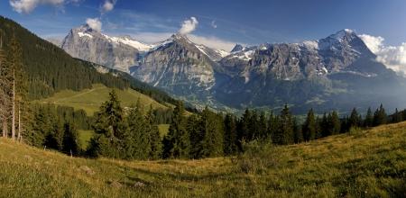 swiss alps: Alpy szwajcarskie z chaty