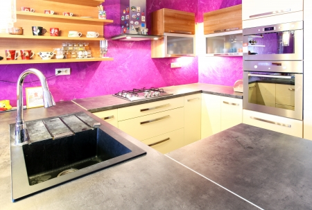 Pink kitchen photo