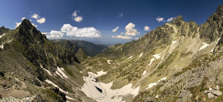 Mountains panorama - Slovakia Tatras Stock Photo - 19837523