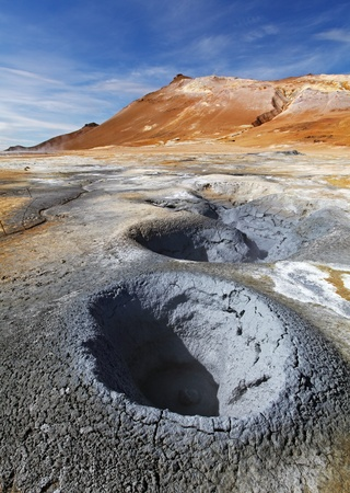 Fumarole field in Namafjall photo