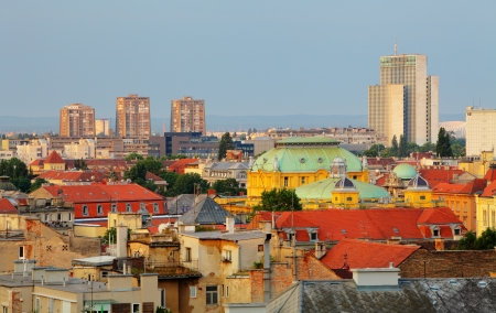 residental: Zagreb cityspace