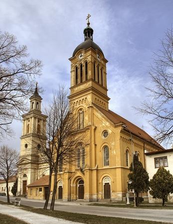 catolic: Catolic church in city Modra