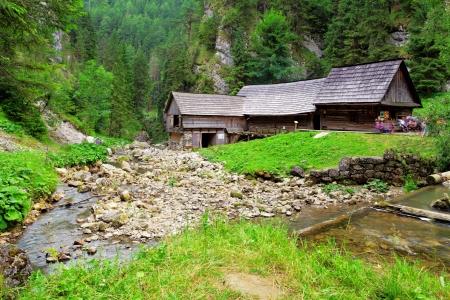 watermill: Watermill - Oblazy, Slovakia