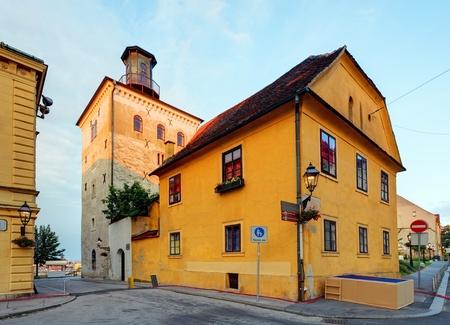 homily: Lotrscak tower in Zagreb, Croatia