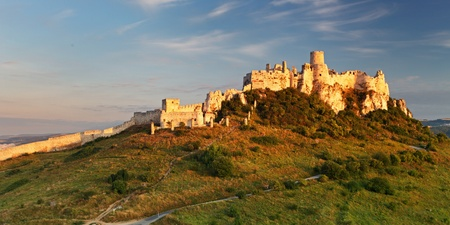 the world cultural heritage: Spissky Castle, Slovakia