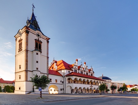 administrative buildings: Unique Old Town Hall in Levoca town