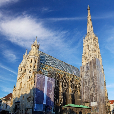saint stephen cathedral: St. Stephan cathedral in Vienna, Austria Stock Photo