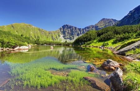 slovakia: Slovacchia Lago di montagna - Roh�?ske plesa, West Tatra