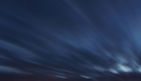 Sky background - long exposure at twiligth with clouds photo