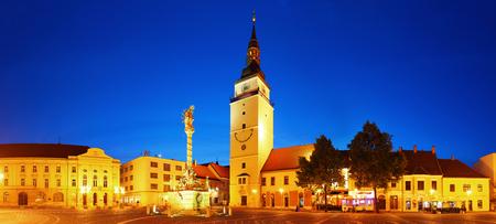 Trnava square - Slovakia city  photo