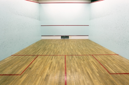 gymnastics sports: International squash court