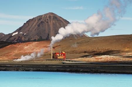 Geothermische energie station - IJsland