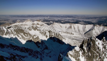 frost bound: High Tatras
