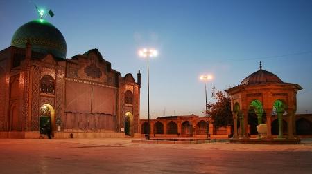 imam: Mosque - Imamzadeye Husayn - Gazvin City - Iran
