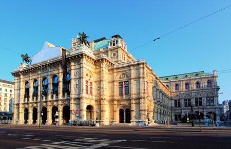 chanteur opéra: Opéra de Vienne Staatsoper, Autriche