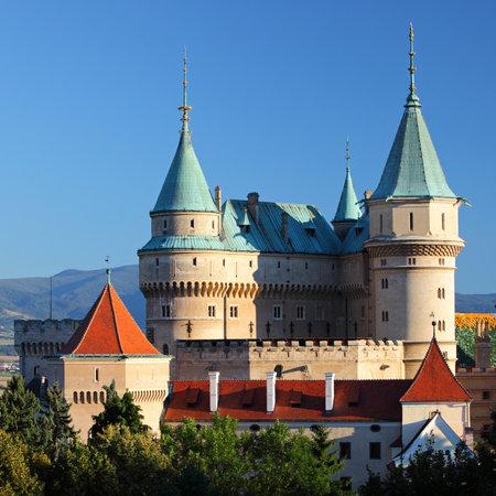 turret: Bojnice castle and park - Slovakia