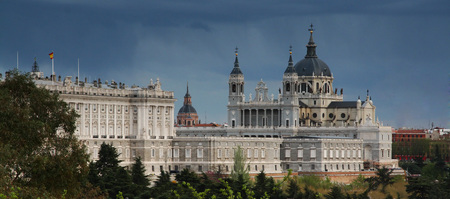 Royal Palace in Madrid, Spain Europe