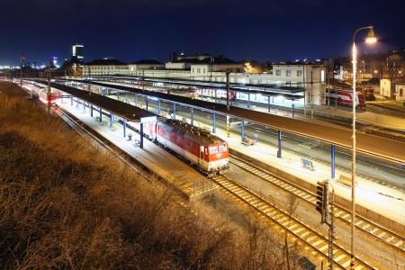 railway points: Main Station in Bratislava
