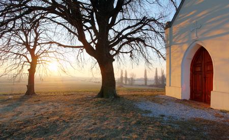 catholic chapel: Nice Catholic Chapel in eastern Europe - Slovakia