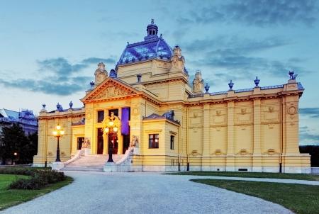 art pavillion in Zagreb  Croatia