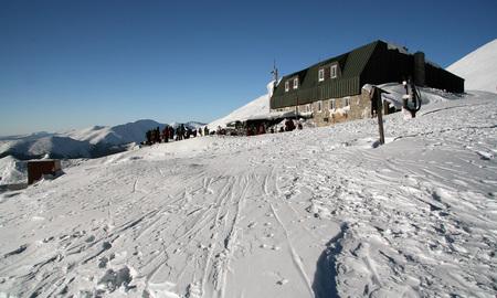 stefanik: Alpine chalet in the Low Tatras Slovakia Name of chalet is Chata M.R. Stefanika