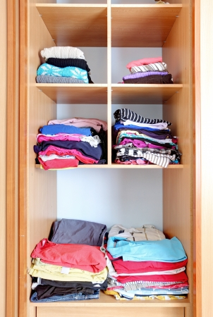 Closet - wardrobe, clothes Stock Photo - 23897000