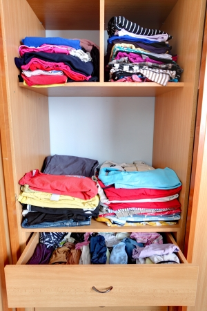 Closet - wardrobe, clothes photo