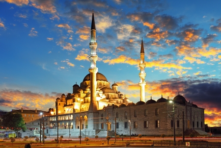 mosques: Istanbul mosque - Turkey, Yeni Cami