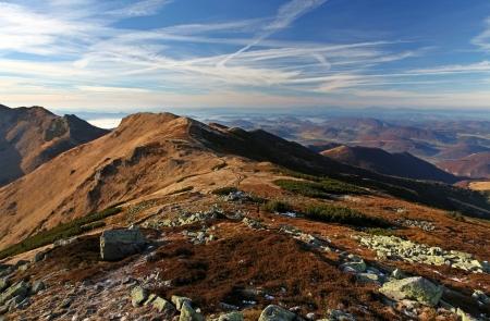 Autumn mountain photo