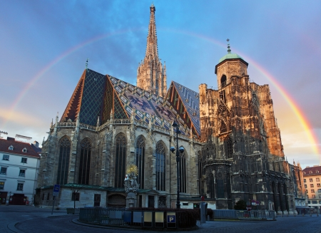 Stephan cathedral in Vienna, Austria photo