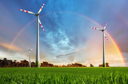 Elektrownia wiatrowa - energia ekologiczna