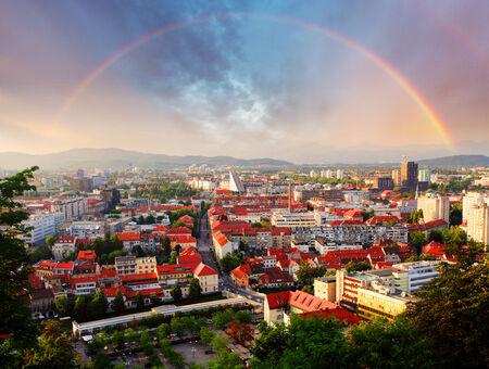 ljubljana: Ljubljana, capital city of slovenia