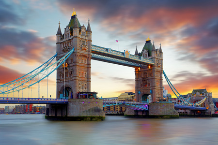 Tower Bridge in London, UK photo