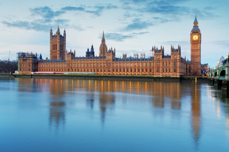 Houses of parliament - Big ben, england, UK photo