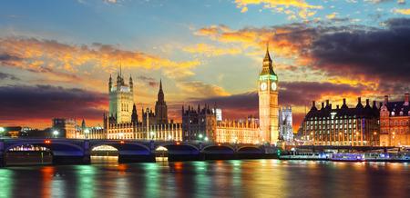 parliament: Houses of parliament - Big ben, London, UK Stock Photo